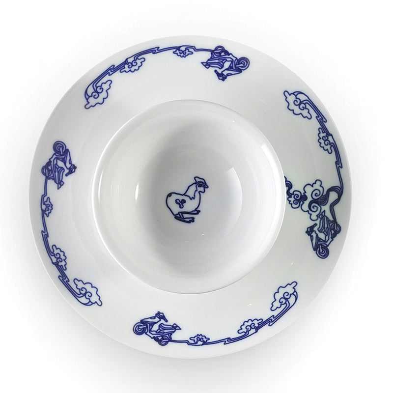The night market - set of 6 plates