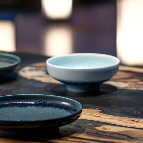 Dishes - bowl ink blue