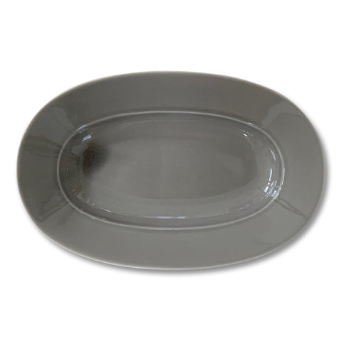 ReiRABO round plate - soil brown