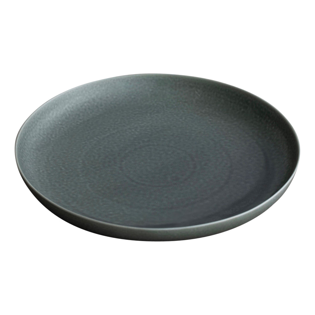 ReIRABO round plate - winter night gray