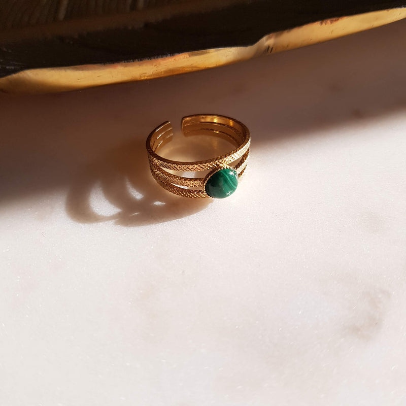 Bague Suzy Malachite