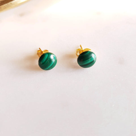 Bague Caroline Malachite