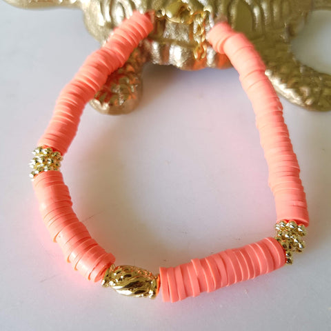 Collier Trinidad orange