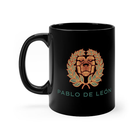 Black Lion mug 11oz