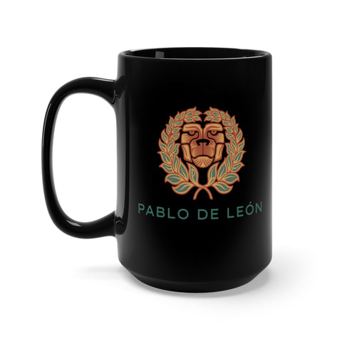 Black Lion Mug 15oz