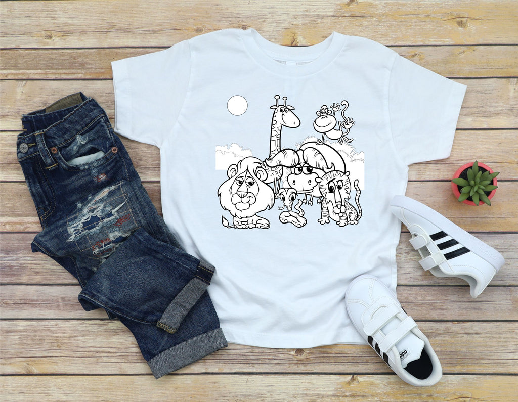 Youth Coloring T-Shirts
