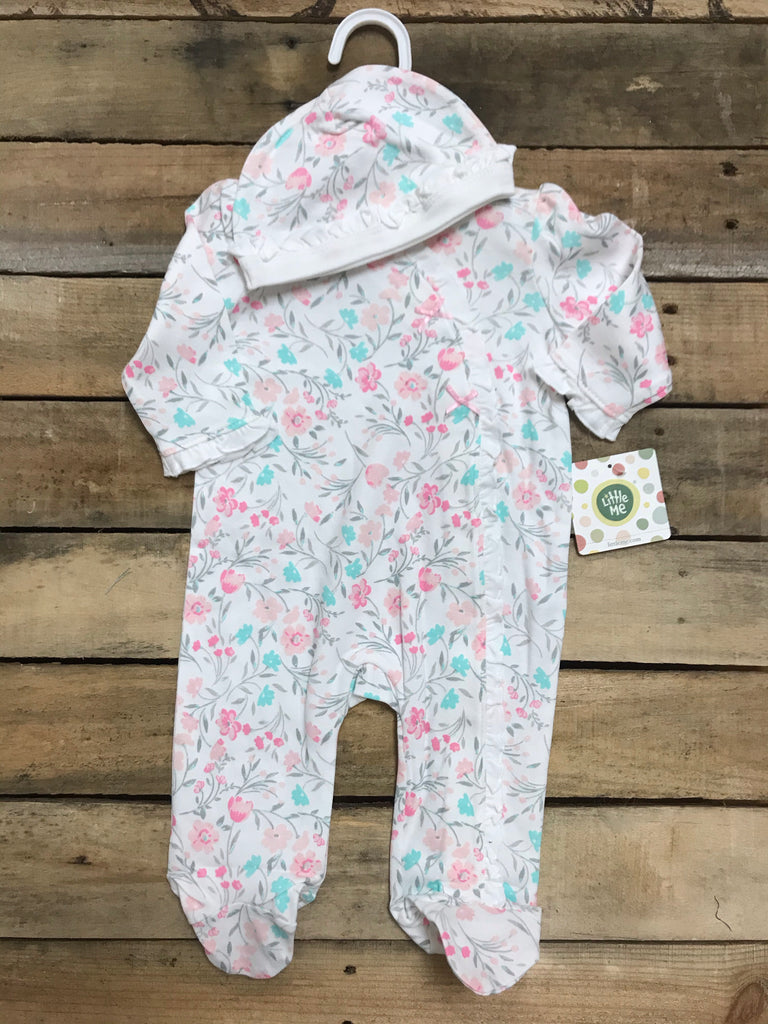 Pink/Mint Floral Sleeper