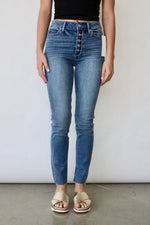 Margot Skinny Frayed Fly