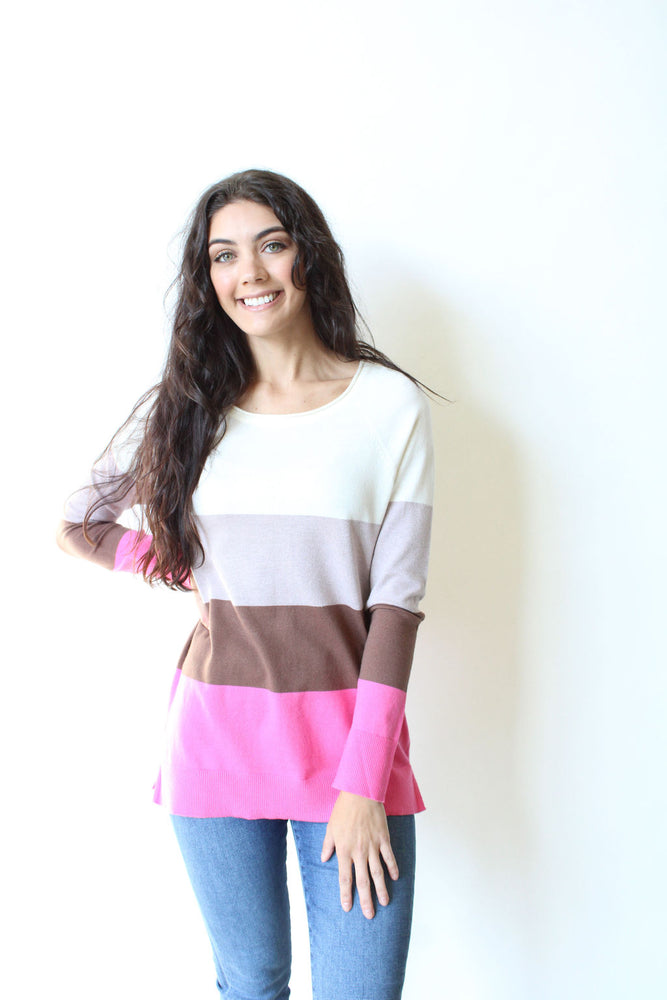 Multi Colorblock Sweater