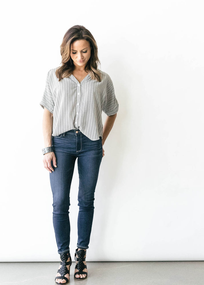 Loni Button Front Shirt