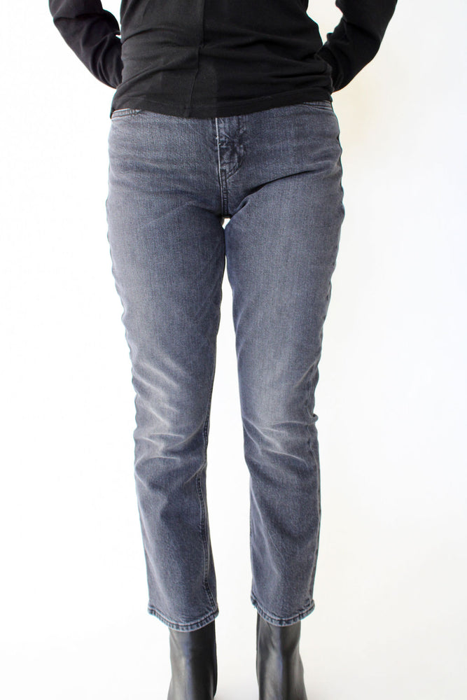 Holly High Rise Crop Bootcut
