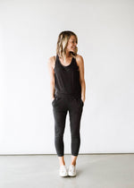 Tank Smocked Jumpsuit