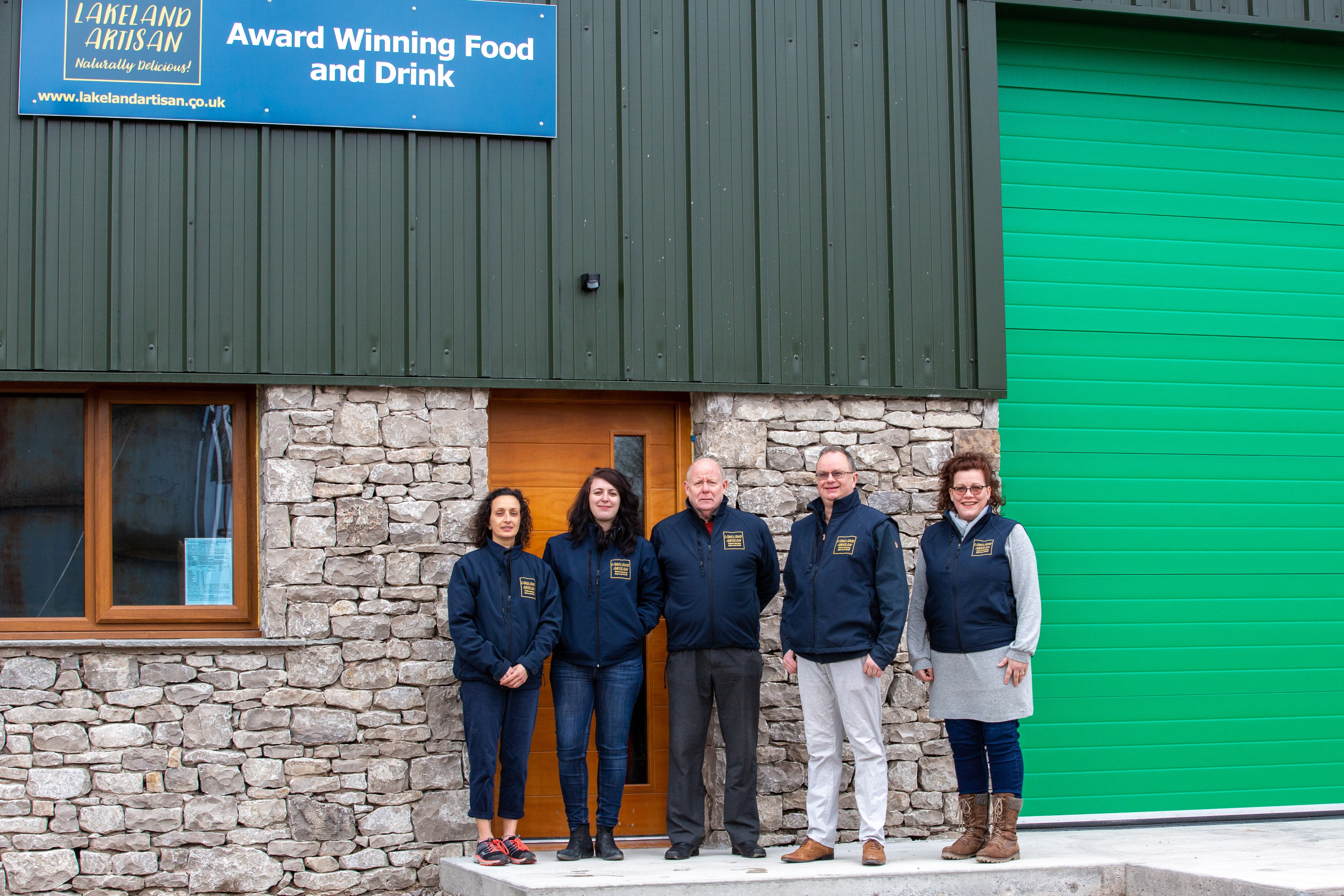 Lakeland Artisan Team Kendal Fell Business Park