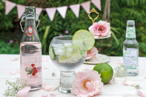 Lakeland Artisan - Elderflower & Rose Petal Gin Liqueur