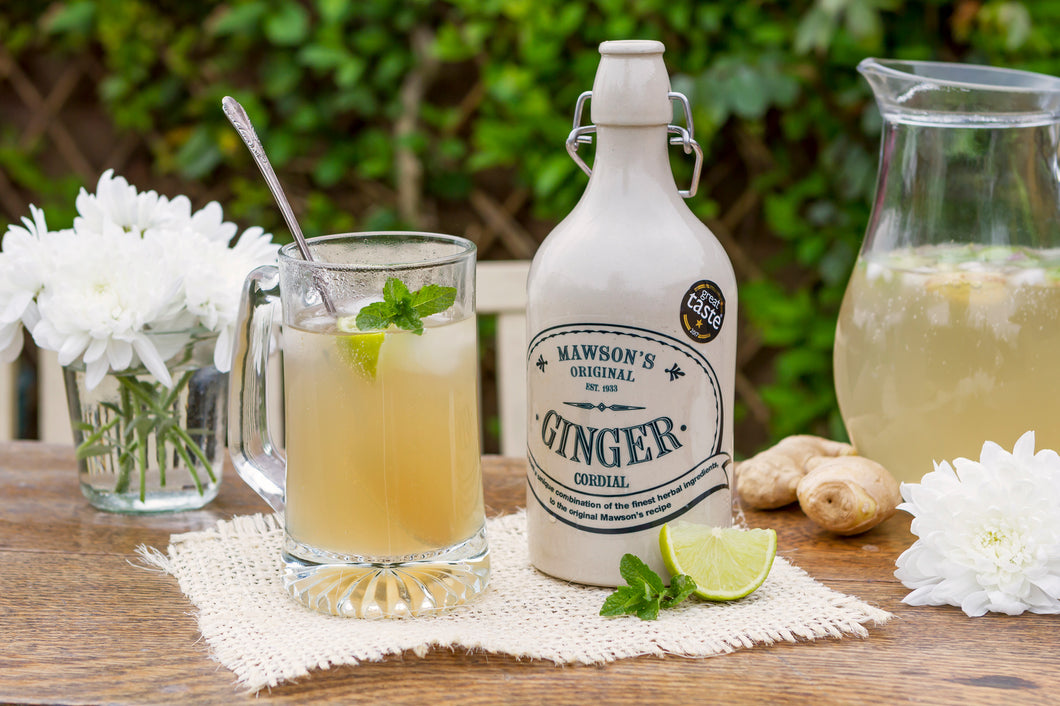 Mawson's Ginger Beer Cordial Stone Crock