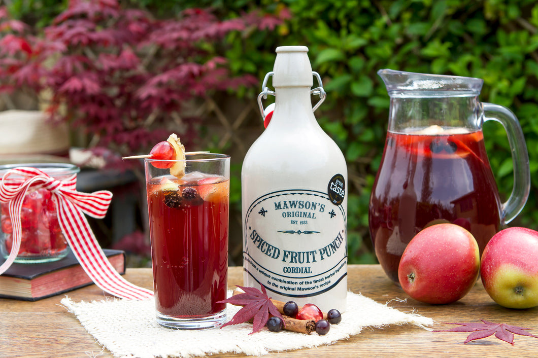Mawson's Spiced Fruit Punch Cordial Stone Crock
