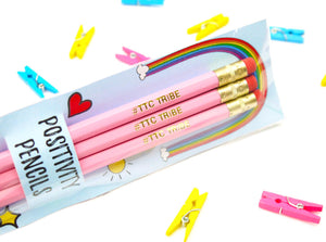 #TTCTRIBE Positivity Pencil Trio