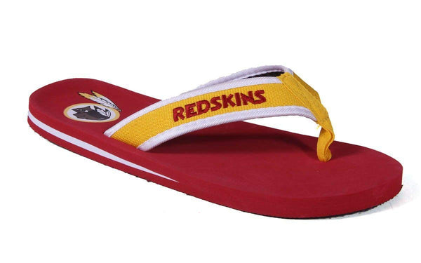 eb6c514786f45 Officially Licensed NFL Contour Flip Flops - Happy Feet and Comfy Feet