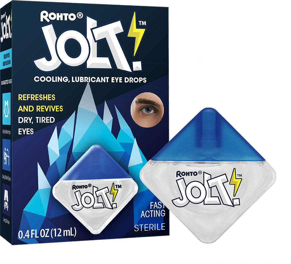 Rohto Jolt Eye Drops
