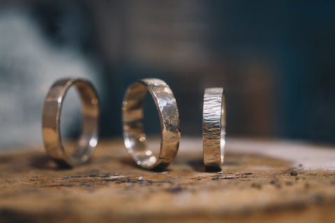 Forge Your Own Hammered Silver Ring