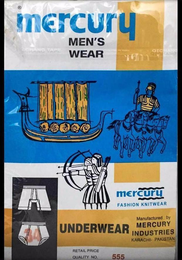 mercury underwear