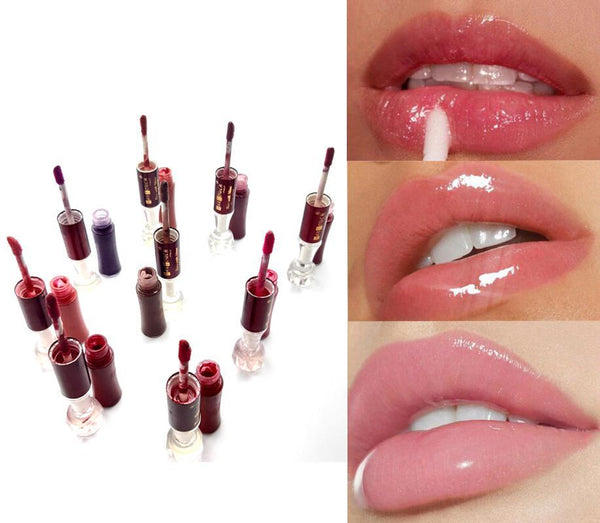 Pack Of 8 Lip Gloss With Shine For Stay Long