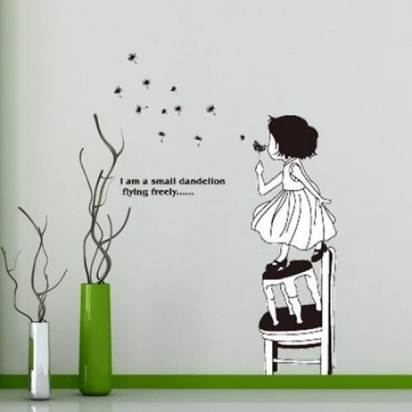 Dandelion Wall Sticker JM8235