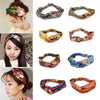 1 Pcs Hair Bands Print Headbands Retro Turban Bandana Hair Accessory Headwrap for Women Girls
