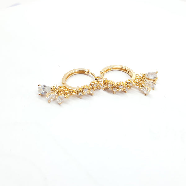 Stylish Zarcoon earrings Golden 052