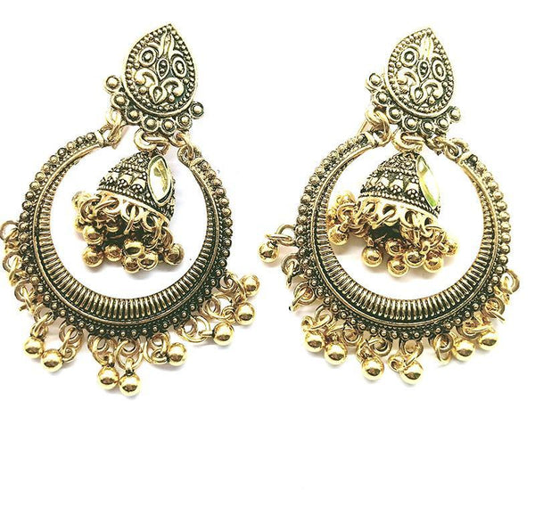 anteek jhomka earrings gsr