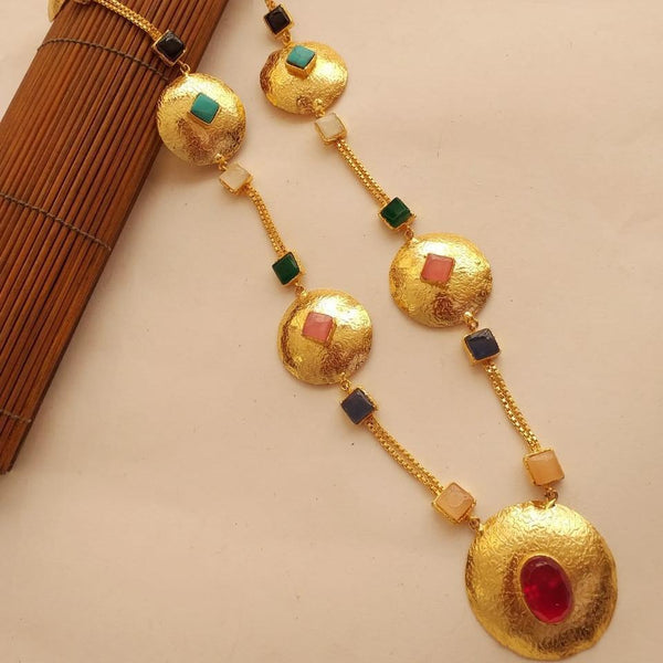 Chain gold plated mala ejeption