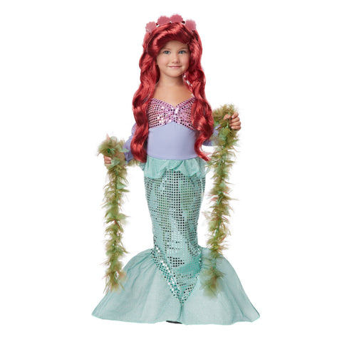 Magical Mermaid Toddler Girl Costume