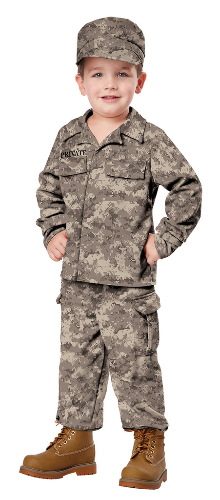 Soldier Toddler Boy Costume