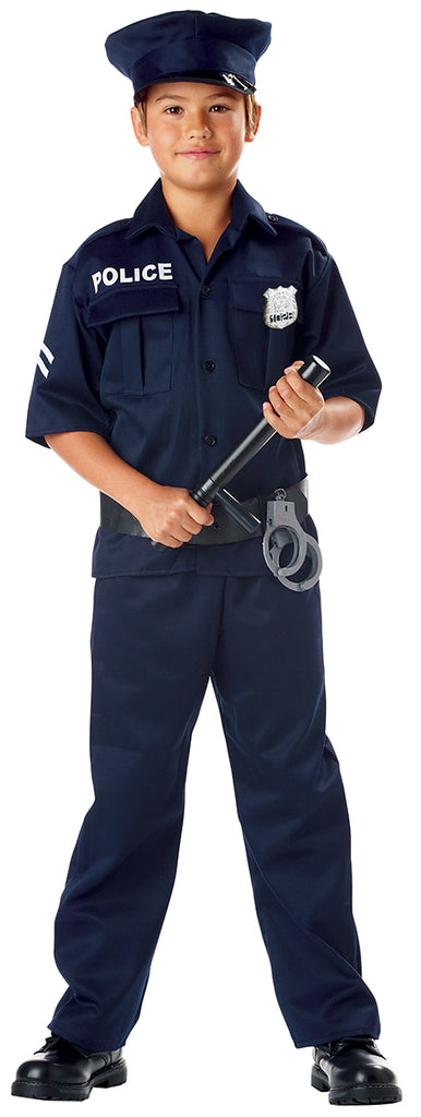 Los Angeles Police Boy Costume