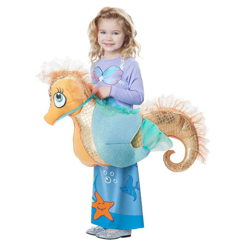 Seaquestrain Mermaid Girl Costume