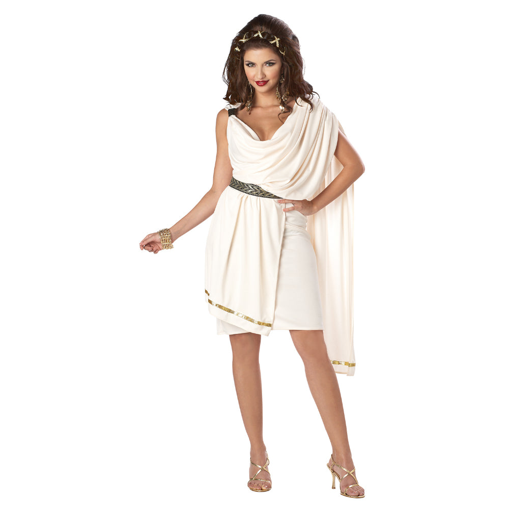 Womens Deluxe Classic Toga Costume