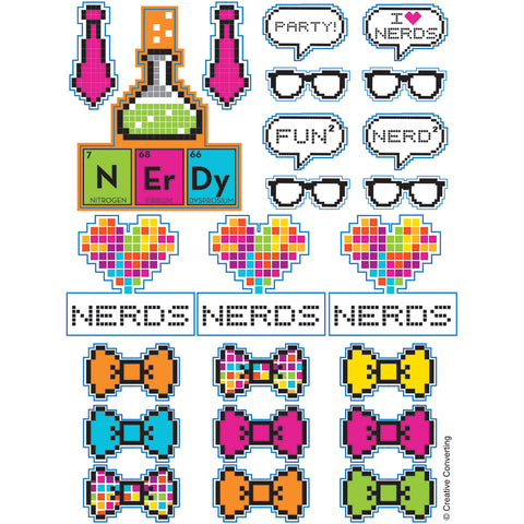 Get Nerdy Value Stickers