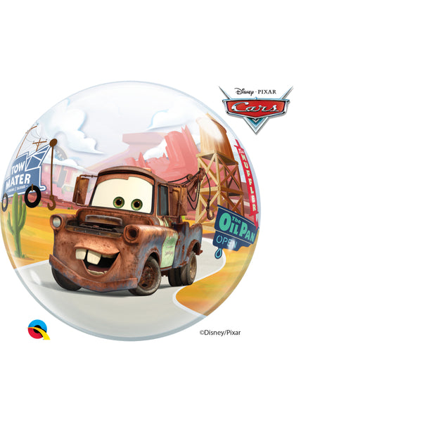 Lightning Mcqueen & Mater 22in Single Bubble 1Ct