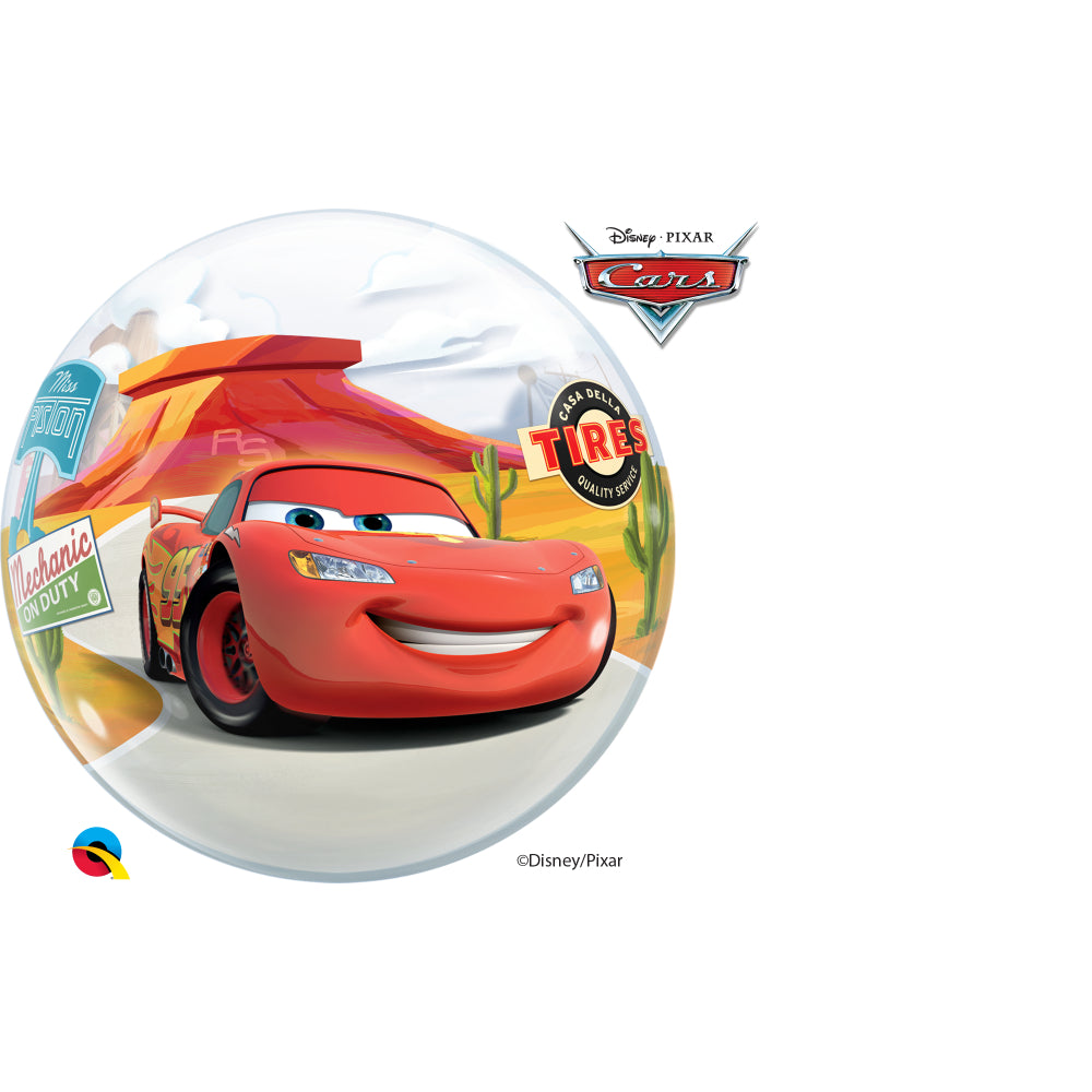 Lightning Mcqueen & Mater Single Bubble
