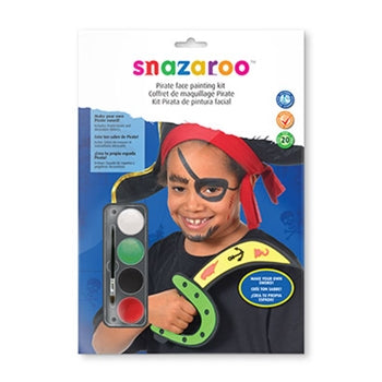Pirate Role Face Painting Kit