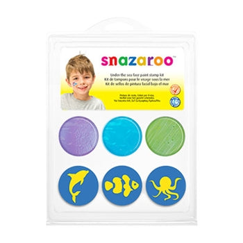 Snazaroo Stamp Face Painting Kit - Under The Sea