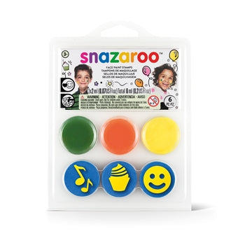 Snazaroo Stamp Face Painting Kit - Birthday