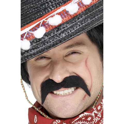 Mexican Bandit Tash Black Self Adhesive