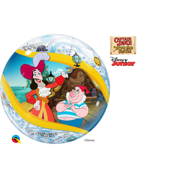 Jake And The Never Land Pirate 22in Single Bubble 1Ct