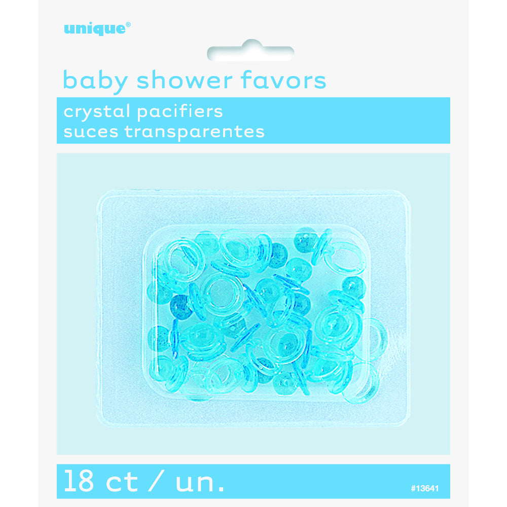 Baby Shower Favors Crystal Pacifiers