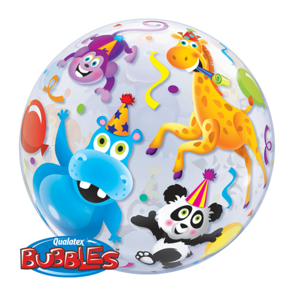 Party Animals 22in Single Bubble 1Ct