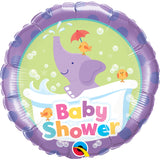 Baby Shower Elephant  Foil Balloon