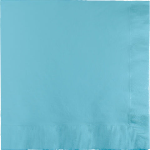 Touch Of Color Pastel Blue Luncheon Napkins