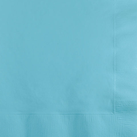 Touch Of Color Pastel Blue Beverage Napkins