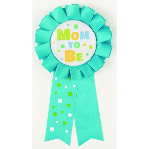 Mom To Be Blue Award Ribbon